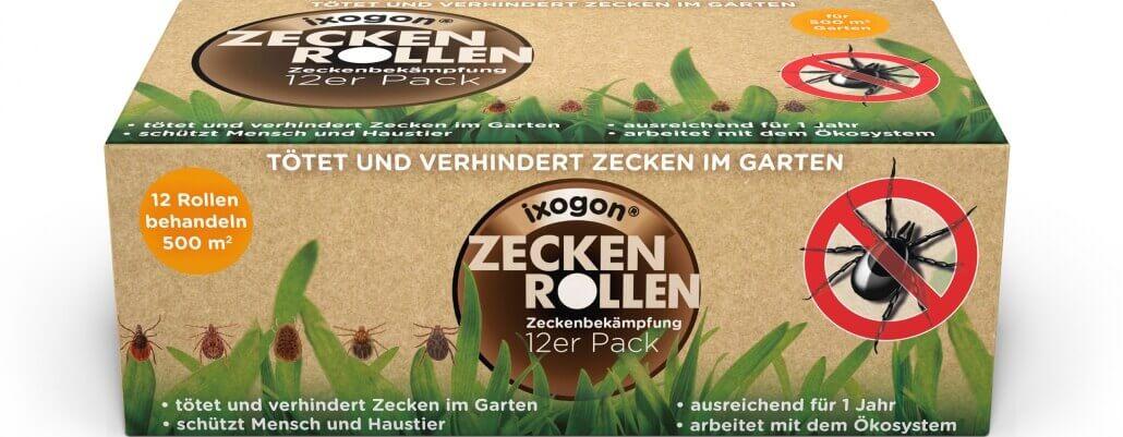 Ixogon Zeckenrollen 12er Pack
