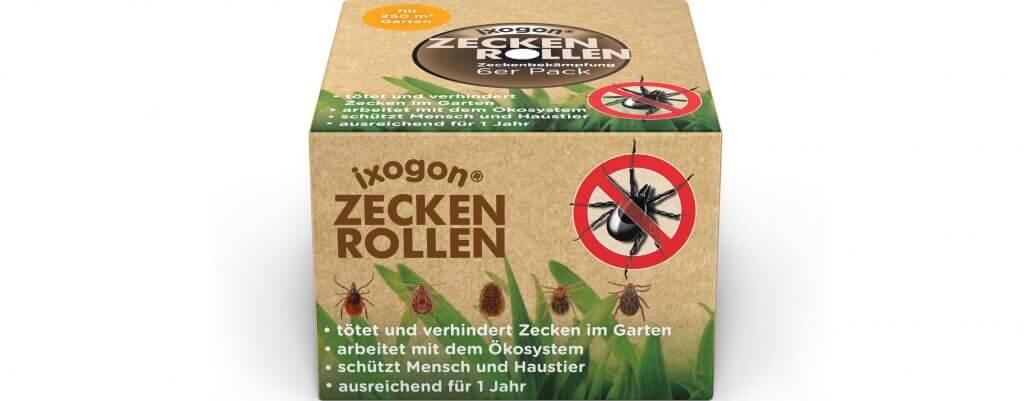 Ixogon Zeckenrollen 6er Pack