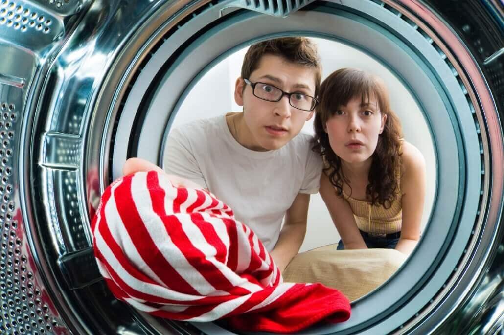 Zecken in die Waschmaschine